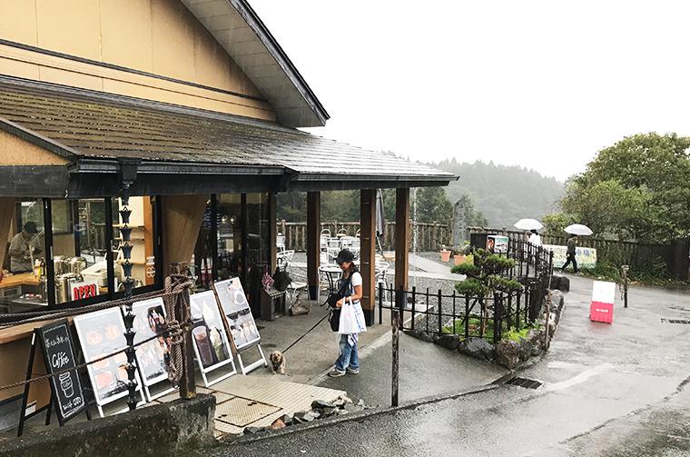 Taki Cafe OTOさんの入り口。